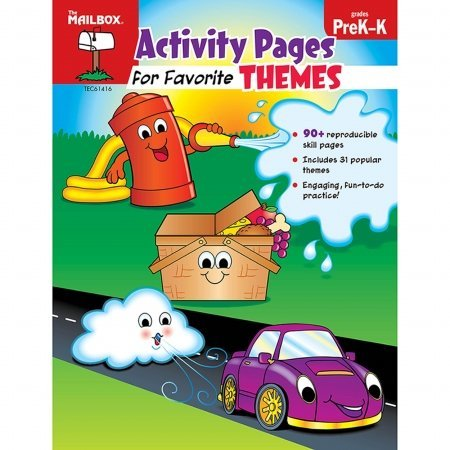 9781612764337: Activity Pages for Favorite Themes (PreK-K)