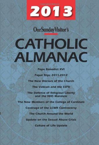 9781612786070: Our Sunday Visitor's Catholic Almanac 2013