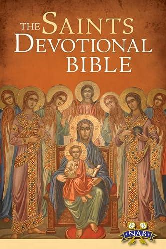 Saints Devotional Bible-NABRE (Paperback)