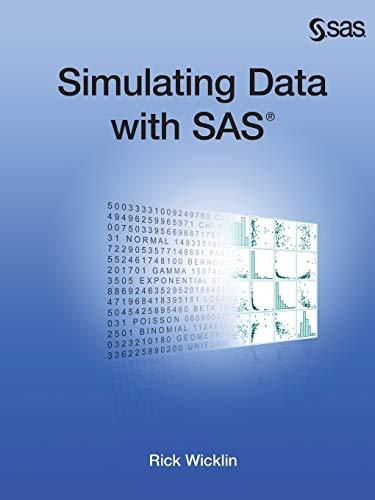 9781612903323: Simulating Data with SAS