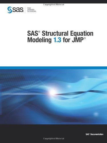 9781612903811: SAS Structural Equation Modeling 1.3 for JMP