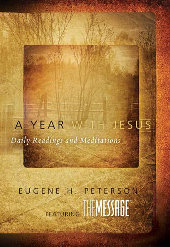 9781612913094: A Year with Jesus: Daily Readings and Meditations