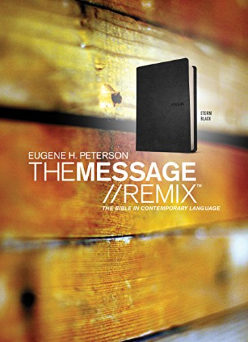 Message Remix-MS: The Bible in Contemporary Language (Imitation Leather): Eugene H. Peterson