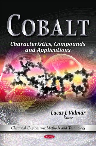 Cobalt: Characteristics, Compounds Applications (Hardback)