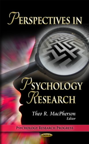 9781613243190: Perspectives in Psychology Research (Psychology Research Progress)