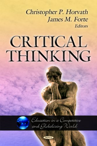 9781613244197: Critical Thinking (Education in a Competitive and Globalizing World)
