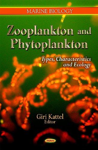 9781613245088: Zooplankton and Phytoplankton: Types, Characteristics and Ecology (Marine Biology)