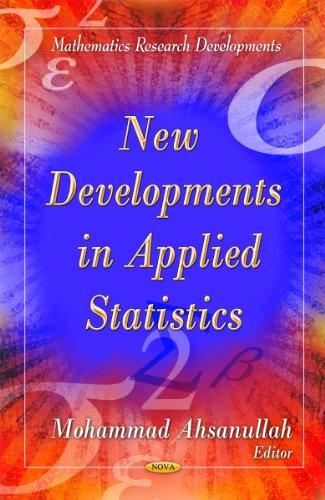 9781613246481: New Developments in Applied Statistics (Mathematics Research Developments)