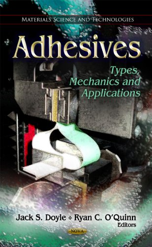 9781613247037: Adhesives: Types, Mechanics and Applications (Materials Science and Technologies)