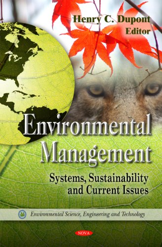 9781613247334: Environmental Management: Systems, Sustainability & Current Issues (Environmental Science, Engineering and Technology)
