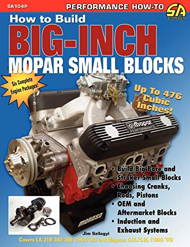 9781613250129: How to Build Big-Inch Mopar Small Blocks