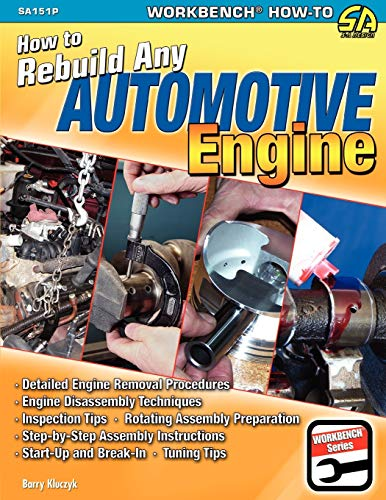 9781613250259: How to Rebuild Any Automotive Engine