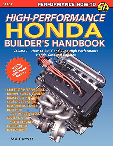 High-Performance Honda Builder's Handbook (Paperback): Joe Pettitt