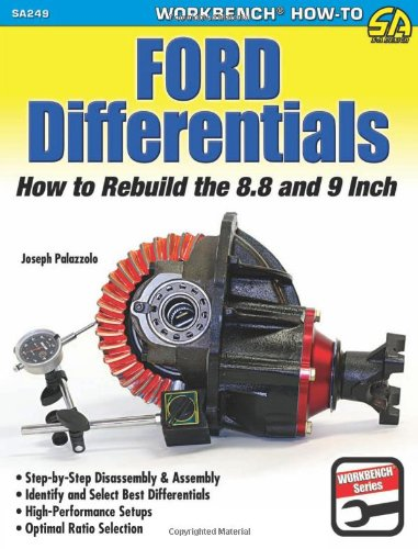 9781613250389: Ford Differentials: How to Rebuild the 8.8 Inch and 9 Inch (Sad Workbench) (Workbench How-to)