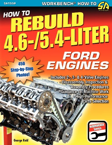 How to Rebuild 4.6-/5.4-Liter Ford Engines: Reid, George