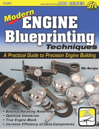 9781613250471: Engine Blueprinting Techniques: The Modern Guide to Precision Engine Building (Pro Series)