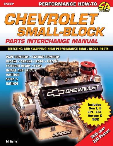 Chevrolet Small Block Parts Interchange Manual (Paperback): Ed Jr Staffel