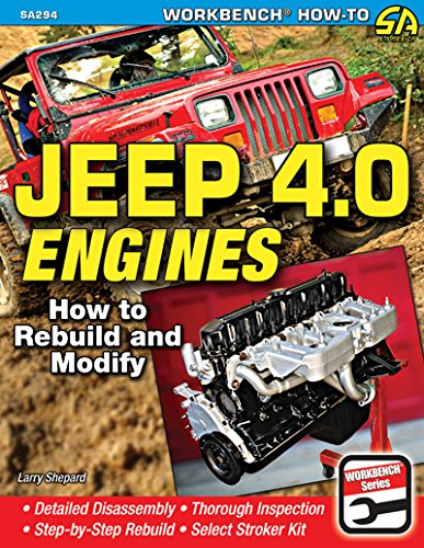 9781613251386: Jeep 4.0 Engines: How to Rebuild and Modify (Workbench How-to)
