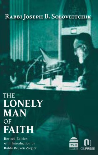 9781613290033: The Lonely Man of Faith