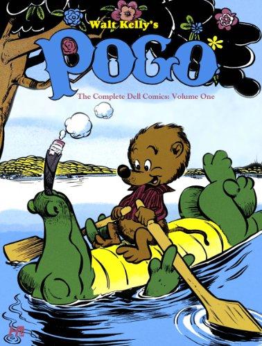 Walt Kelly's Pogo: The Complete Dell Comics Volume 1: Kelly, Walt