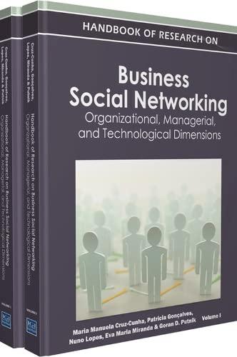 Handbook of Research on Business Social Networking: Maria Manuela Cruz-Cunha