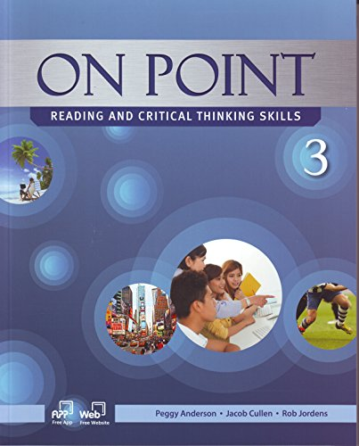 9781613527382: On Point 3, Reading and Critical Thinking Skills (Student Book and Skills Workbook)
