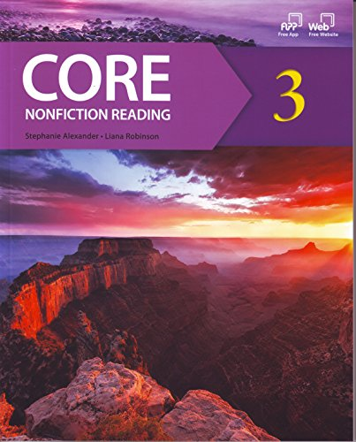 9781613527429: CORE Nonfiction Reading 3 (Student Book and Reading Fluency Workbook)