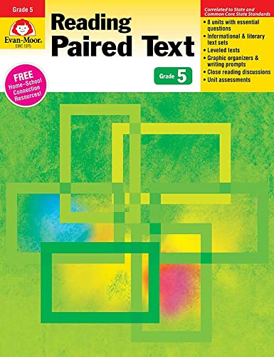 9781613689875: Reading Paired Text, Grade 5
