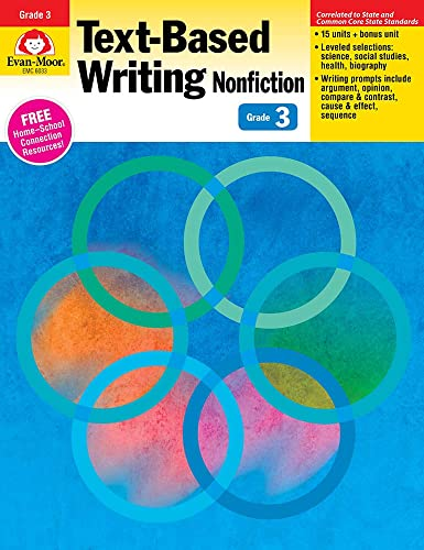 9781613689967: Text Based Writing: Nonfiction, Grade 3 (Text-Based Writing: Nonfiction: Common Core Mastery)