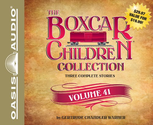 9781613753774: The Boxcar Children Collection Volume 41: Superstar Watch, The Spy In The Bleachers, The Amazing Mystery Show (Boxcar Children Collections)