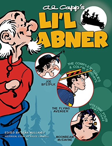 Li'l Abner: Complete Daily & Sunday Comics, 1941-1942 (Volume 4)