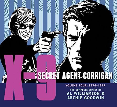 9781613772362: X-9: Secret Agent Corrigan Volume 4 (X-9 Secret Agent Corrigan/ Library of American Comics)