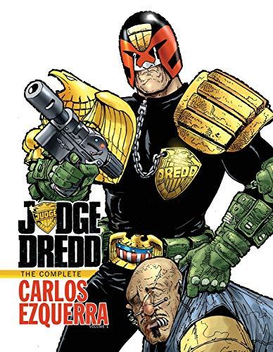 9781613775509: Judge Dredd: The Complete Carlos Ezquerra Volume 1