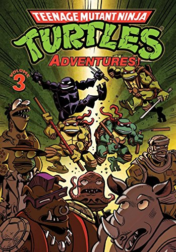 Teenage Mutant Ninja Turtles Adventures Volume 3