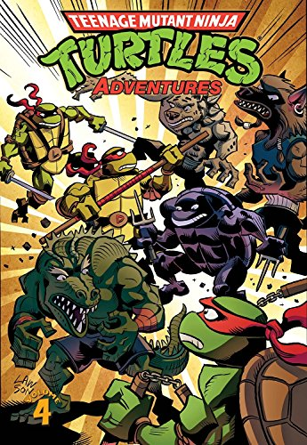 Teenage Mutant Ninja Turtles Adventures Volume 4