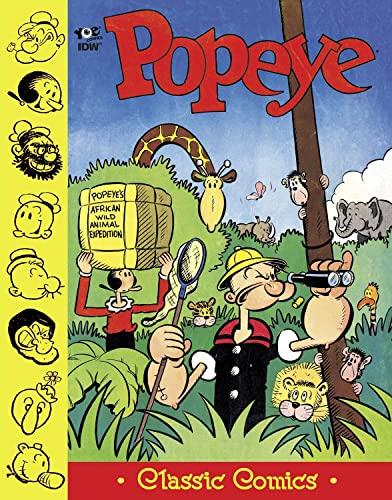 "9781613779361: Popeye Classics: ""King Blozo's Problem"" and more! (Volume 4) (Popeye Classics Hc)"