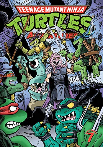 Teenage Mutant Ninja Turtles Adventures Volume 7
