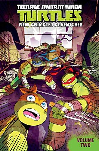 9781613779620: Teenage Mutant Ninja Turtles: New Animated Adventures Volume 2