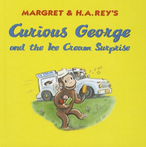 9781613831885: Curious George and the Ice Cream Surprise (Curious George 8x8)