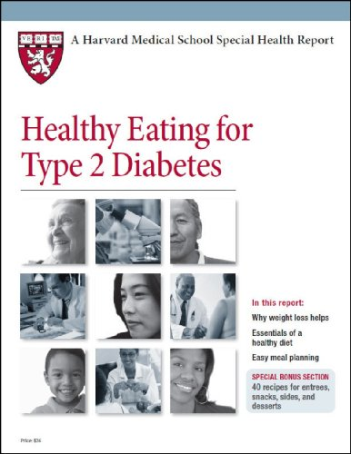 9781614010067: Harvard Medical School Healthy Eating for Type 2 Diabetes