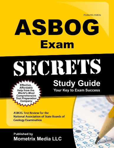 9781614029892: ASBOG Exam Secrets Study Guide: ASBOG Test Review for the National Association of State Boards of Geology Examination