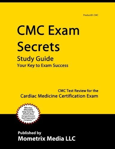 9781614030270: CMC Exam Secrets Study Guide: CMC Test Review for the ...