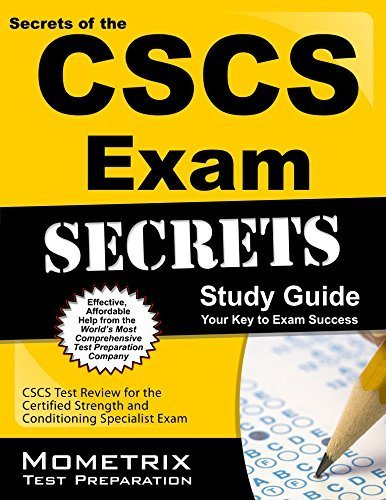 9781614030454: Secrets of the CSCS Exam Study Guide: CSCS Test Review for the Certified Strength and Conditioning Specialist Exam