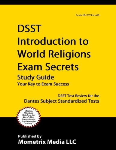 9781614030751: DSST Introduction to World Religions Exam Secrets Study Guide: DSST Test Review for the Dantes Subject Standardized Tests