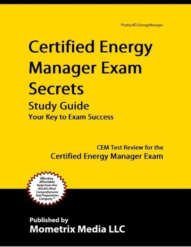 9781614030836: Certified Energy Manager Exam Secrets Study Guide: CEM Test Review for the Certified Energy Manager Exam