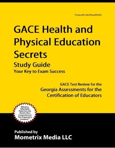 9781614031222: GACE Health and Physical Education Secrets Study Guide: GACE Test Review for the Georgia Assessments for the Certification of Educators