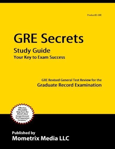 9781614031406: GRE Secrets Study Guide: GRE Revised General Test Review for the Graduate Record Examination