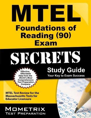 9781614032113 mtel foundations of reading 90 exam secrets study rh abebooks com Nce Exam Study Guide Cicerone Exam Study Guide
