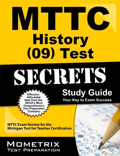 9781614032243: MTTC History (09) Test Secrets Study Guide: MTTC Exam Review for the Michigan Test for Teacher Certification