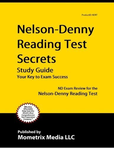 9781614032380: Nelson-Denny Reading Test Secrets Study Guide: ND Exam Review for the Nelson-Denny Reading Test